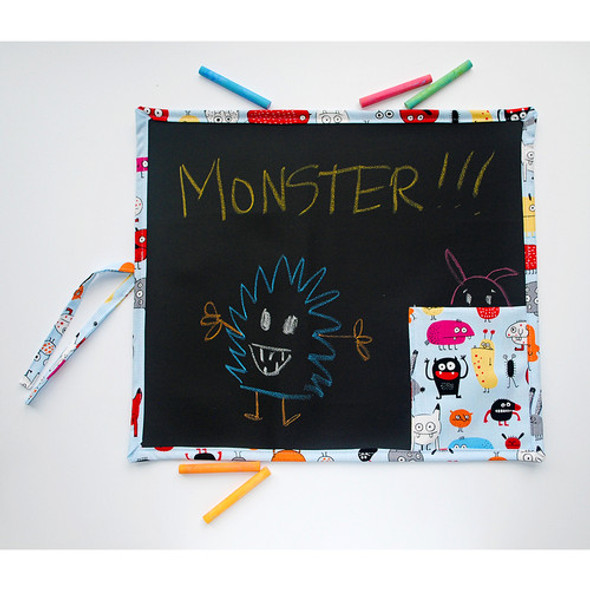 Monsters Roll Up Travel Chalkboard Art Toy