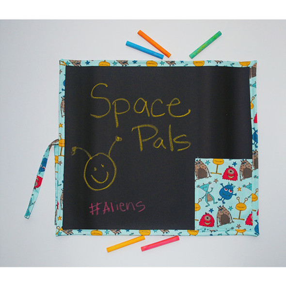 Space Roll Up Travel Chalkboard Art Toy