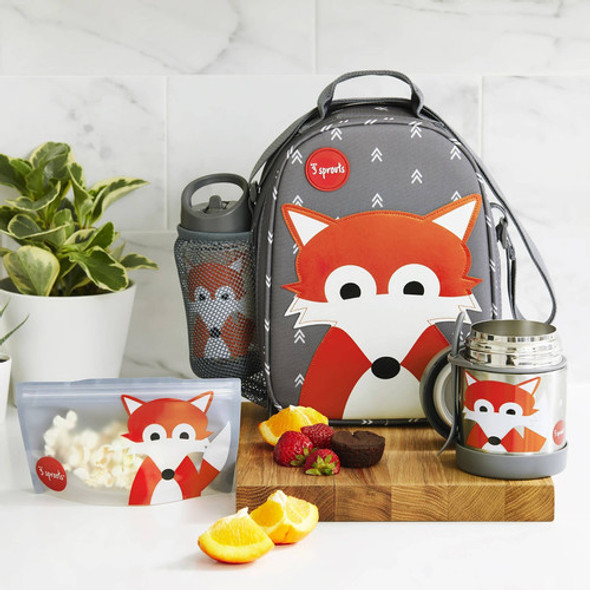 Children's on The Go Fox Lunch Set  - Autumn Dreams Store
