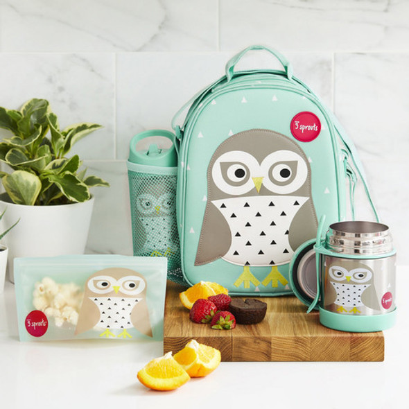 Children's Complete 9 Piece Owl Lunch Kit  - Autumn Dreams Store
