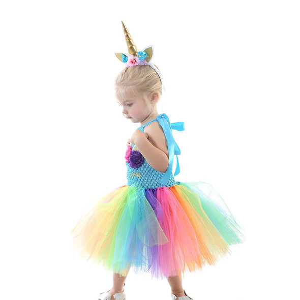 Toddler Rainbow Mermaid Dress - Autumn Dreams Store