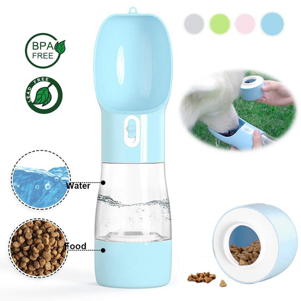 Portable All in One Pet Drinking and Feeder Bottle
