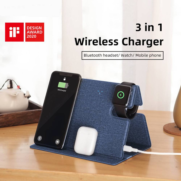 Adjustable Wireless Charging Pad Station for iPhone and Samsung Devices - Autumn Dreams Store
