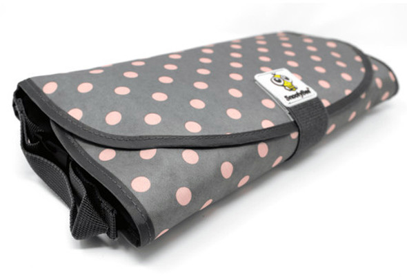 Pink Dots Deluxe Clean Hands 3 in 1 Changing Pad