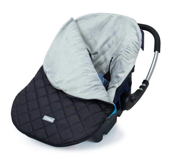 Winter Warm Infant Carrier Cover – Warm All-Around Baby Cover for Car Seats
