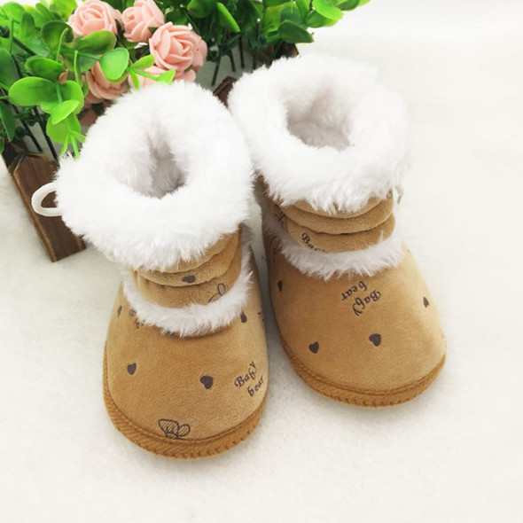 Baby Fleece Booties - Non-Slip Casual Soft Sole Snow Boots