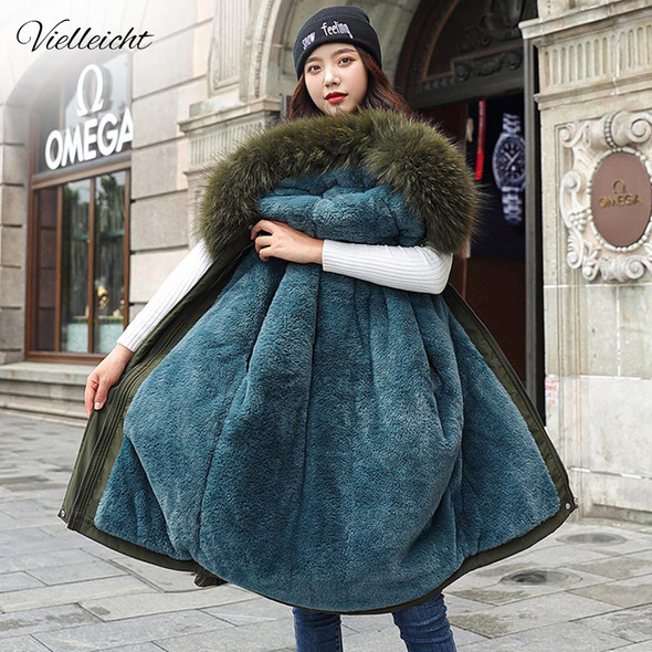 Women's  Winter Parka with Fur Lined Hood