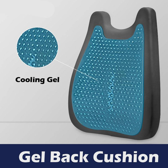 back cushion for chairs with cooling gel - autumn dreams store