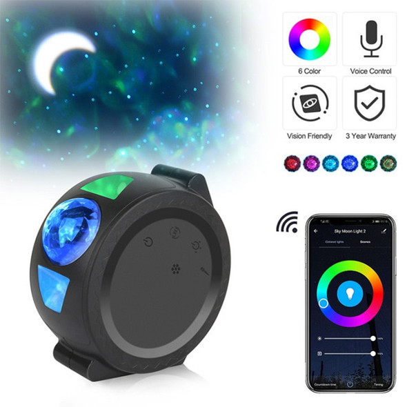 Wifi Smart Led Starlight Projector - App Control for Multi-Color Night Light LED Nebula and Starry Cloud Effect