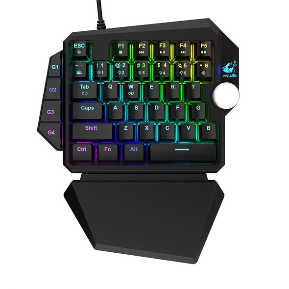 Ergonomic Wired RGB Mechanical Gamer Keyboard - Pro Gaming Keypad for Desktop Laptop PC with Wrist Rest
