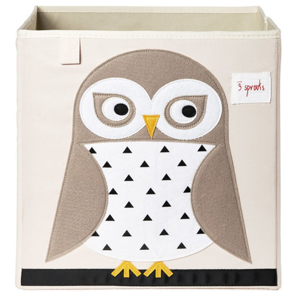 Children's Owl Toy Storage Box - Autumn Dreams Store