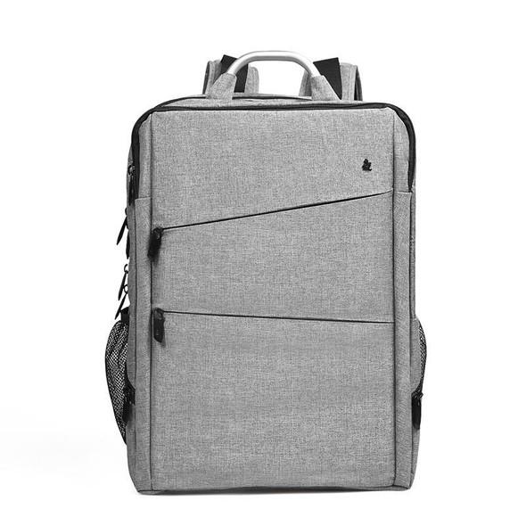Sleek Softback Business Backpack with High-Capacity Storage