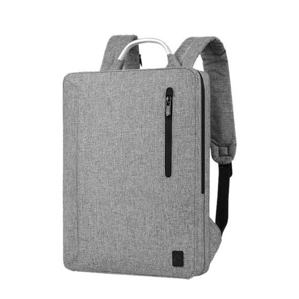 Sleek Waterproof Laptop Slim Backpack with Metallic Handle