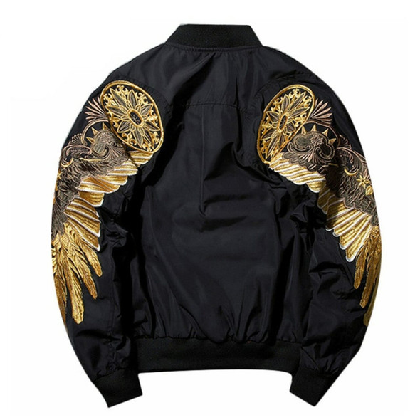 Winged Bomber Jacket - Men's Autumn and Spring Jacket