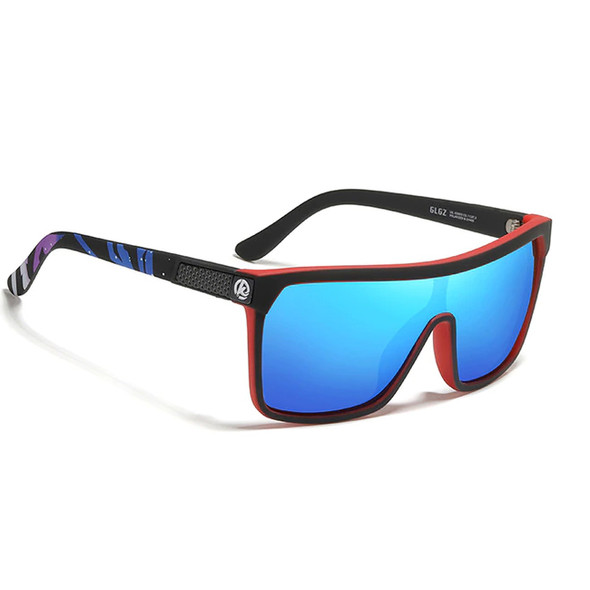 Square Frame Polarized High Style Sports Sun Glasses