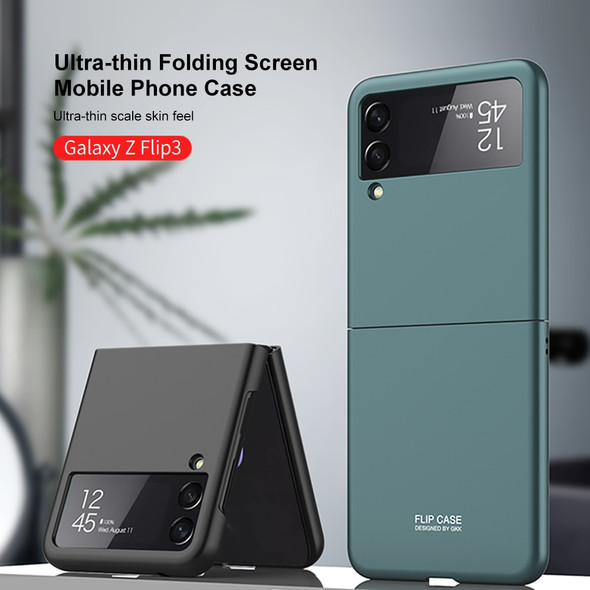 Galaxy Z Flip 3 5G Ultra-thin Cover with Luxury Plating PC Crystal Finish
