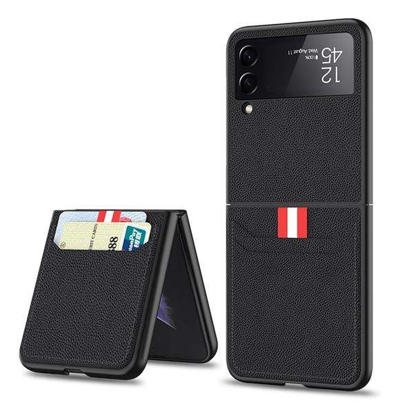 Samsung Z Flip 3 5G Luxury Leather Phone Case Wallet with Card Holder