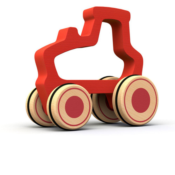 eco-friendly wood toy truck -autumn dreams store