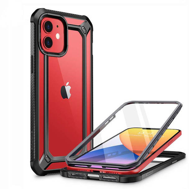 """Full Body Protection Clear Case For iPhone 12 Pro 6.1"""" - Clear Bumper Cover with Built-in Screen Protector"""