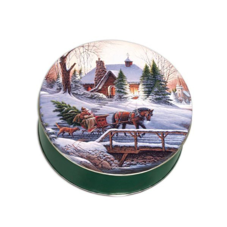 Christmas Tree Fudge Tin - Phenomenal Fudge buy online