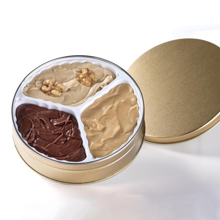 Three Flavors Fudge Tin | Phenomenal Fudge