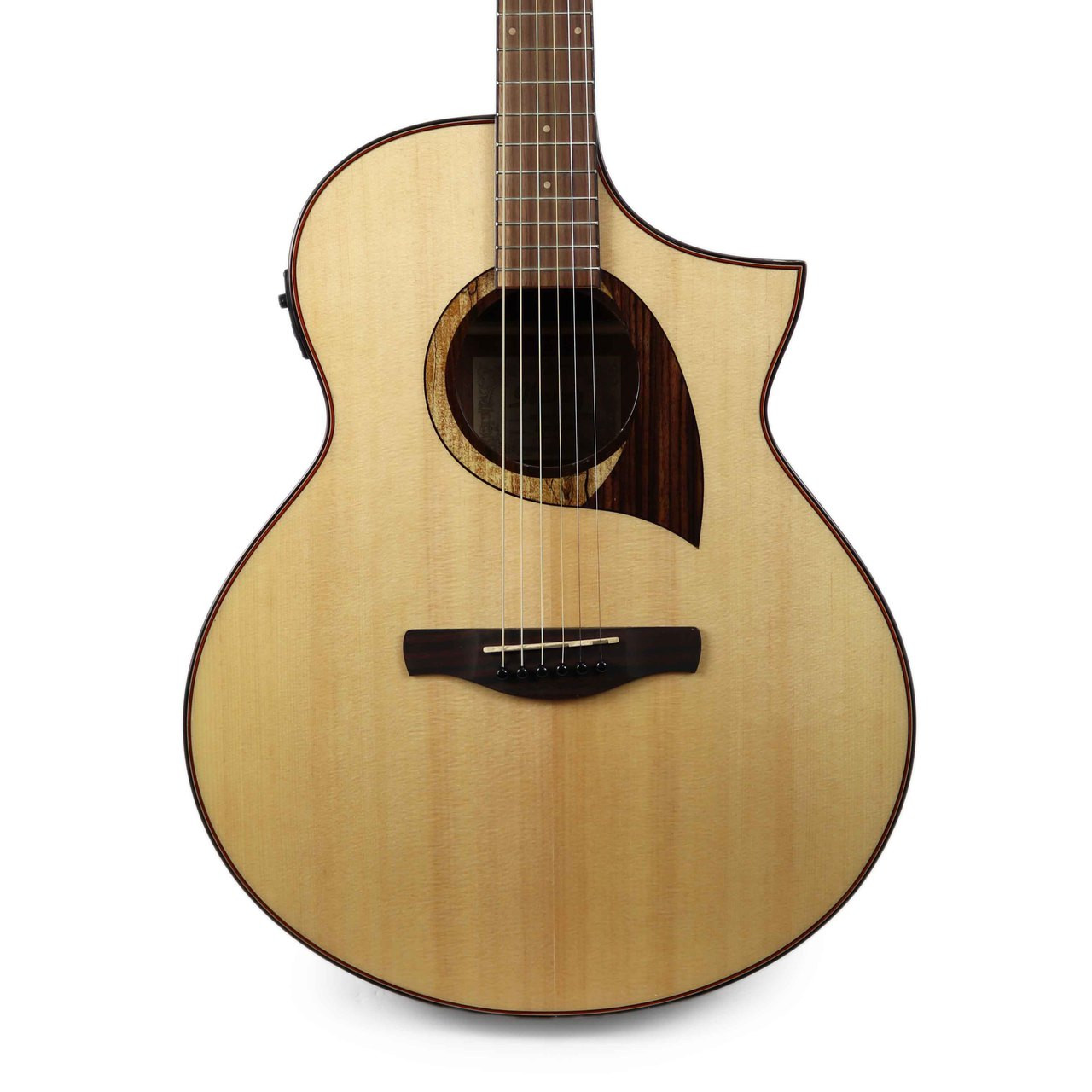 Ibanez Aew22cdnt Cordia Exotic Wood Acoustic Electric Guitar In Natural