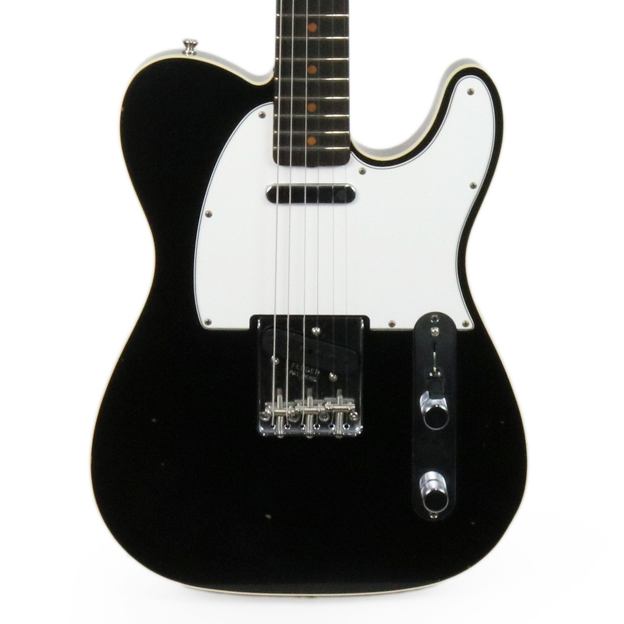 Fender Custom Shop 63 Journeyman Relic Telecaster In Aged Black