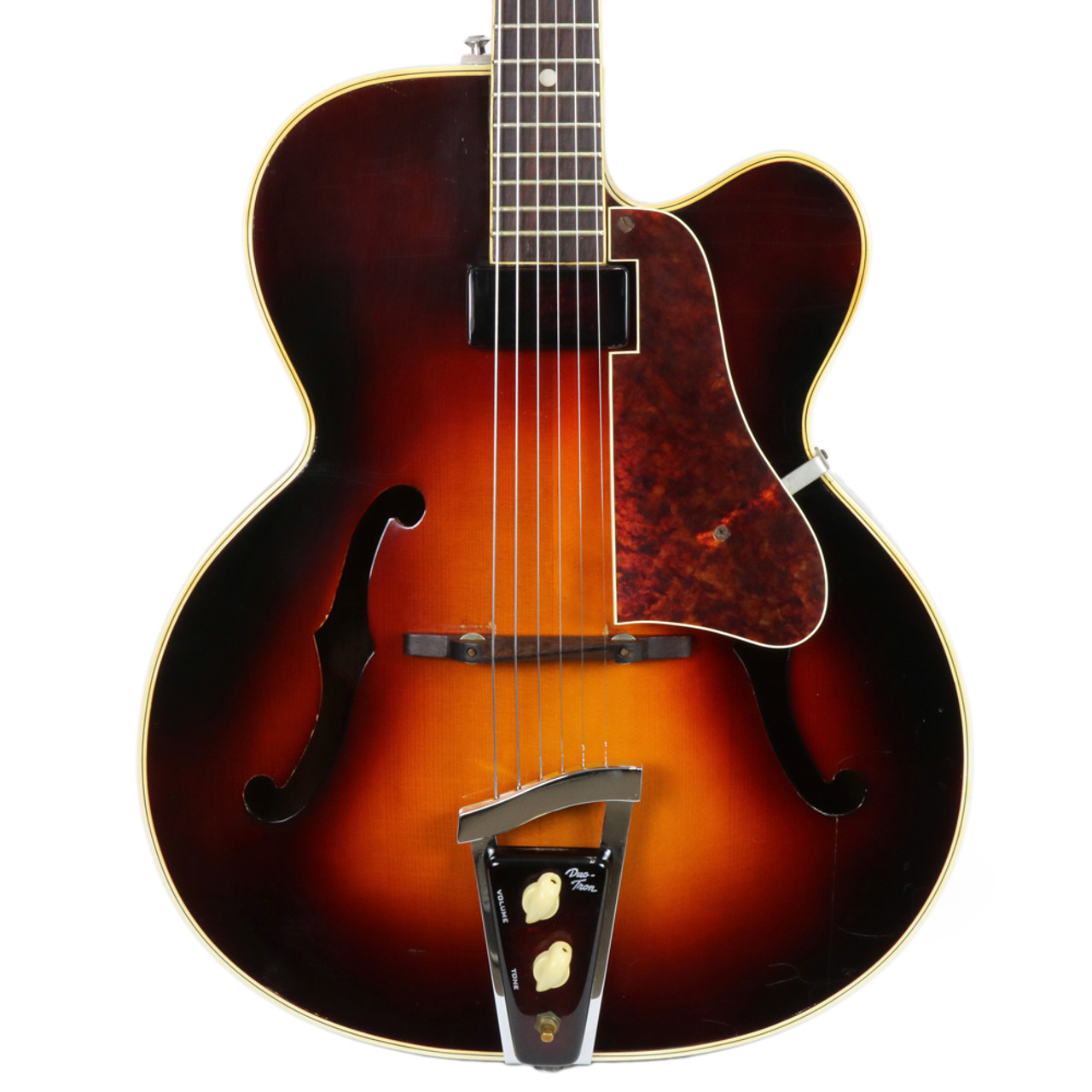Used Rare Vintage 1947 - 1950's Vega Duo Tron C166 Archtop