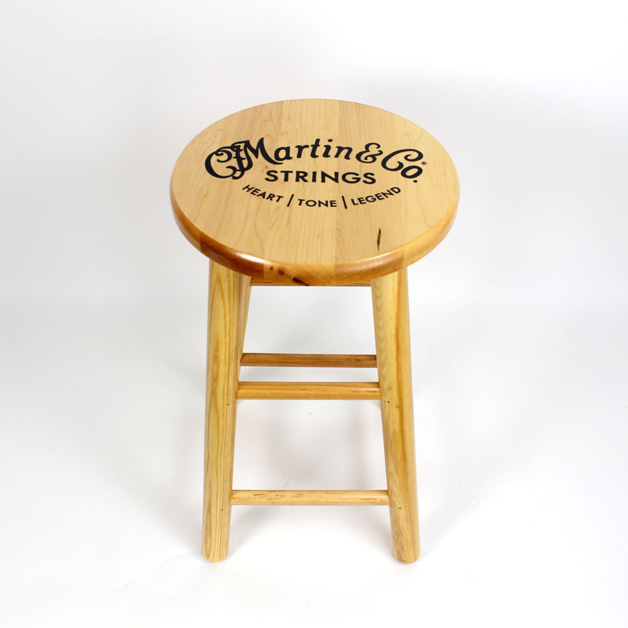 Wondrous Cf Martin Co Logo Wooden Bar Stool 24 Pdpeps Interior Chair Design Pdpepsorg