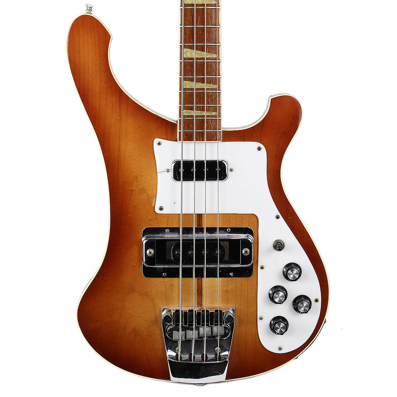 Vintage 1980 Rickenbacker 4001 Electric Bass Guitar Autumnglo Finish