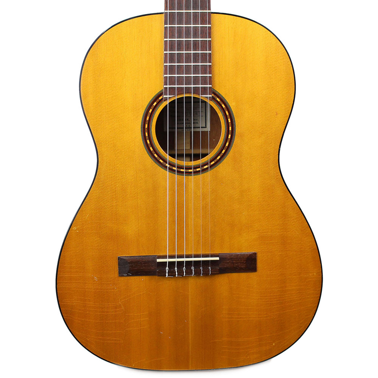 Vintage 1968 Gibson C-1 Laredo Acoustic Classical Guitar Natural