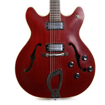Vintage 1967 Guild Starfire IV Semi-Hollow Body Electric Guitar Cherry Finish