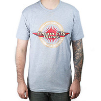Cream City Music Logo T-Shirt in Grey XXL
