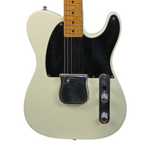 Vintage 1954 Fender Esquire Refinished White