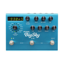 Strymon BigSky Reverb Effects Pedal