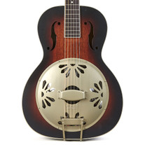Gretsch G9240 Alligator Biscuit Round-Neck Resonator - 2 Color Sunburst
