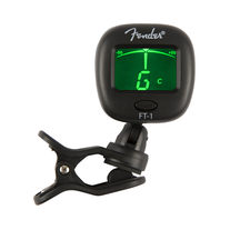 Fender FT-1 Pro Clip-On Tuner - Black