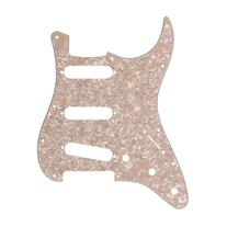 Fender Stratocaster S/S/S Pickguard 11-Hole Mount 4-Ply - Aged White Pearl