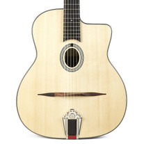 Eastman DM1 Gypsy Jazz Acoustic Archtop - Natural Spruce