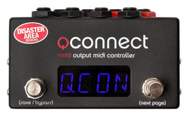 Disaster Area qConnect 8 Output MIDI Controller