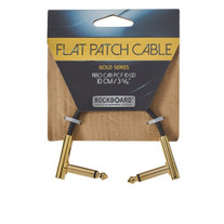 """RockBoard Flat Patch Gold Series Cable 10cm / 3.94"""""""