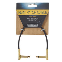 """RockBoard Flat Patch Gold Series Cable 20cm / 7.87"""""""
