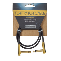 """RockBoard Flat Patch Gold Series Cable 60cm / 23.62"""""""