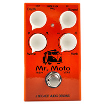 J Rockett Audio Designs Mr. Moto Tremolo & Spring Reverb Pedal