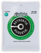 Martin MA130S Authentic Acoustic Marquis Silked Custom Guage Strings 11.5-47