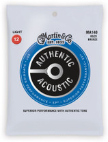 Martin MA140 Authentic Acoustic 80/20 Bronze Light 12-54