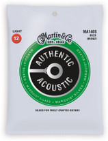Martin MA140S Authentic Acoustic Marquis Silked Light Strings 12-54