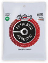 Martin MA530T Authentic Acoustic Lifespan 2.0 Strings Extra Light 10-47