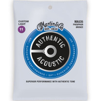 Martin MA535 Authentic Acoustic SP Custom Light Strings 11-52