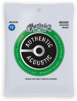 Martin MA550S Authentic Acoustic Marquis Silked Medium Strings 13-56